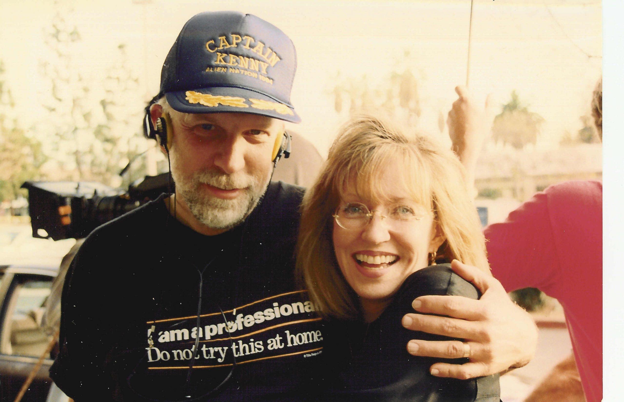 With Susie on Alien Nation: Dark Horizon