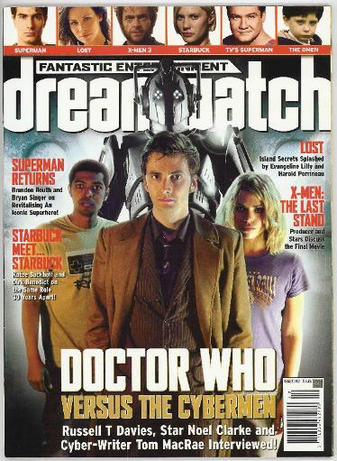 Dreamwatch Magazine Articles by Kenny