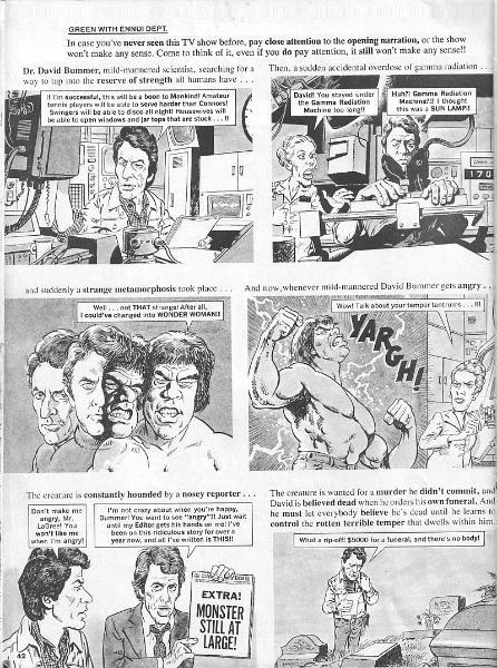 MAD Magazine Hulks out!