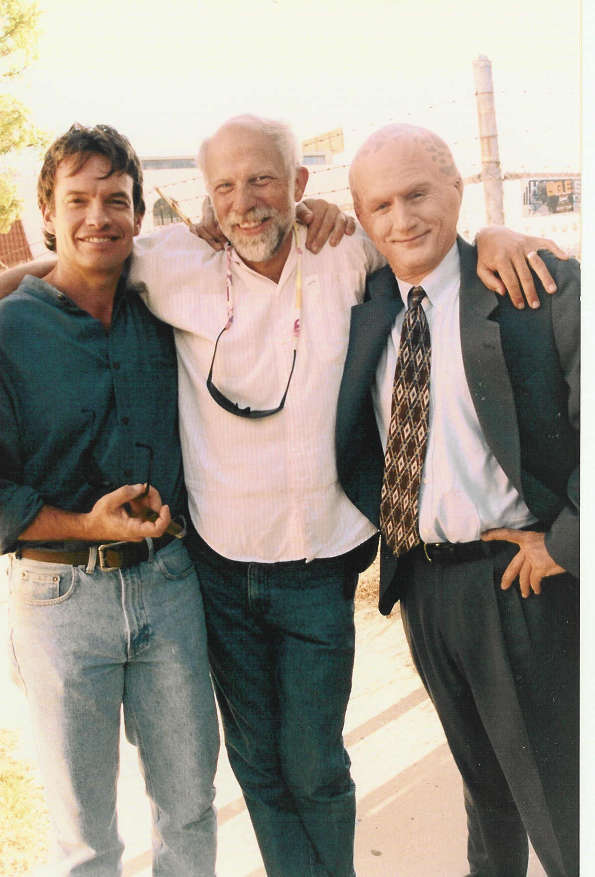 The Last Shot on The Last Day of The Last Alien Nation Movie -- eight years of great work and pals forever