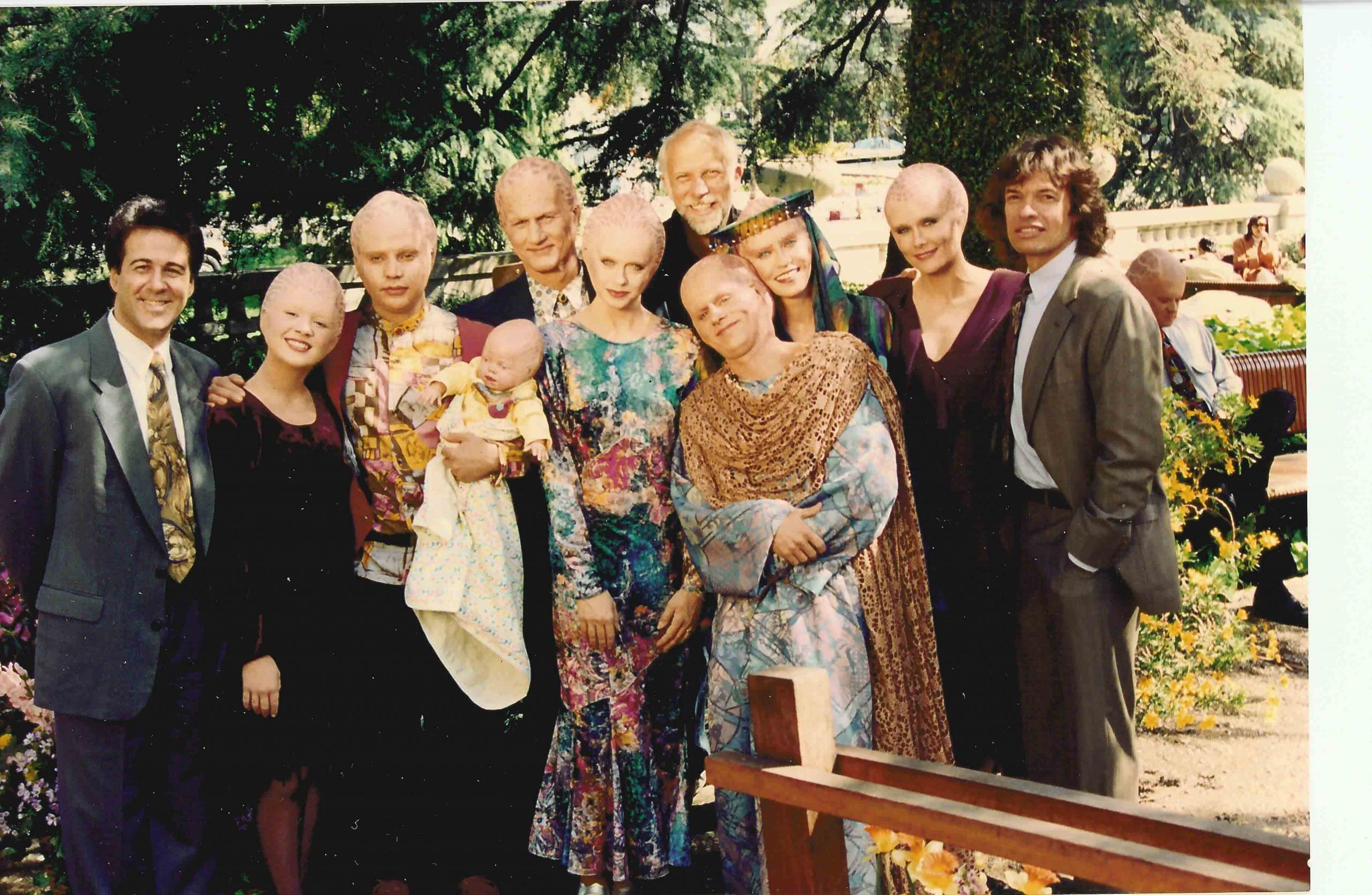 The Alien Nation Family & Susie as priestess